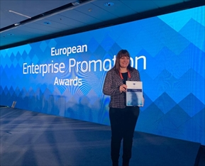 NCIZ with international recognition at the European Enterprise Promotion Awards 2019