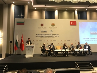 The state-owned industrial zones were presented at the business forum in Istanbul